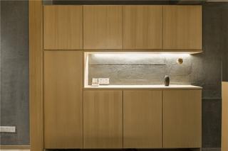 三居室日式风格玄关装修效果图