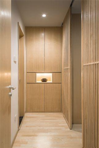 三居室日式风格走廊装修效果图