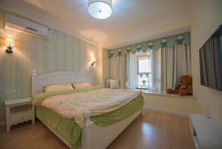 地中海混搭风格三居卧室装修效果图