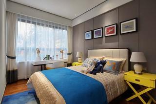 120平米新中式风格儿童房装修效果图