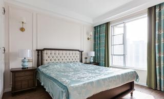 136㎡美式风格卧室装修效果图