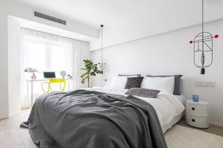100平北欧风卧室装修效果图