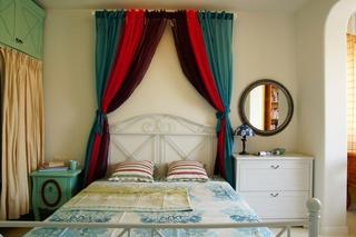 90㎡地中海风格卧室装修效果图