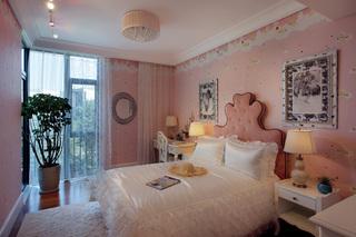 美式风格别墅女孩房装修效果图