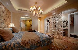 127平地中海风格卧室装修效果图