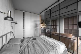 工业风格小户型公寓装修效果图