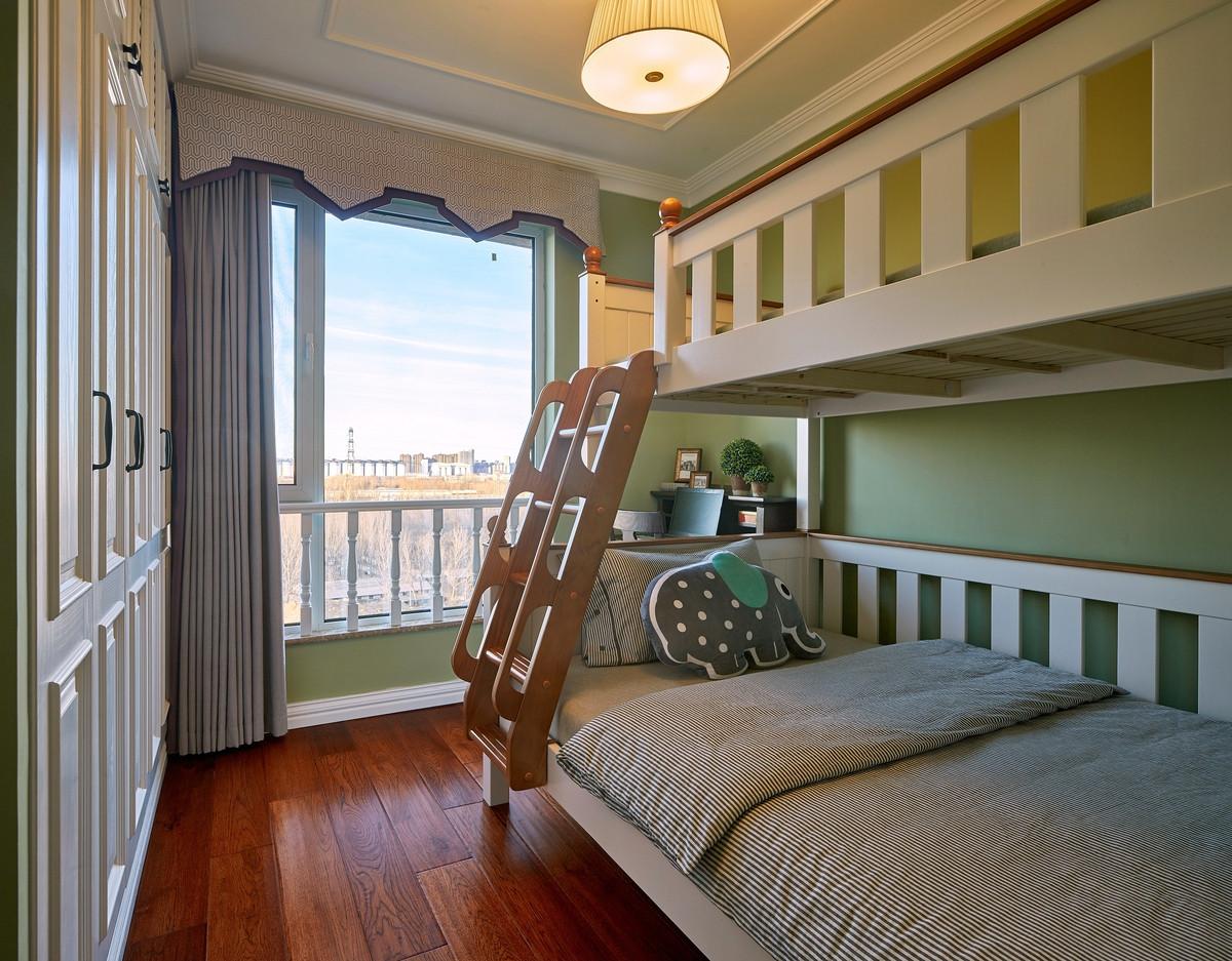 二居室美式风格儿童房装修效果图