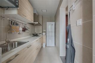 极简日式风格三居厨房装修效果图