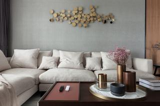 现代简约轻奢风装修沙发设计图