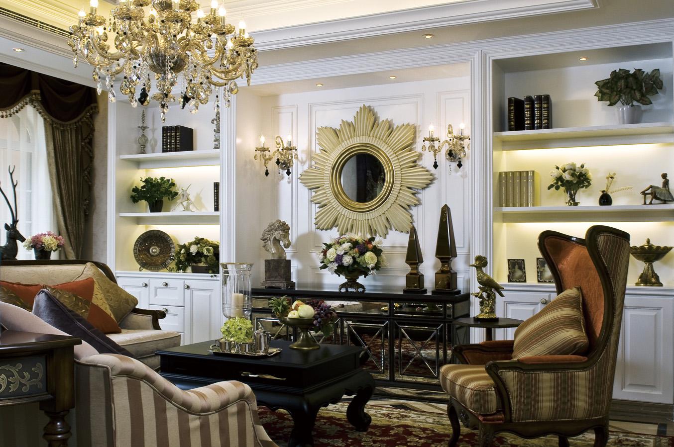 大户型奢华欧式风格客厅装修效果图