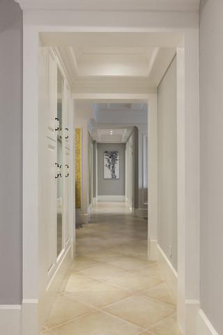 四居室美式风格走廊装修效果图
