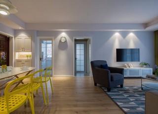简约现代两居室装修效果图