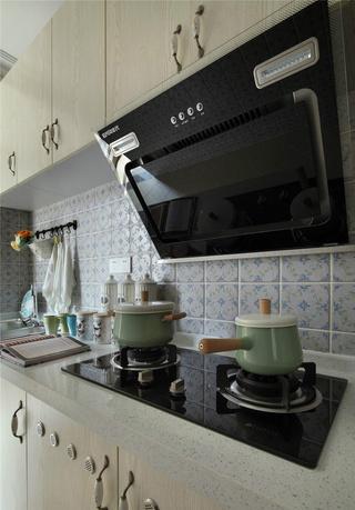 地中海风格两居室厨房装修效果图