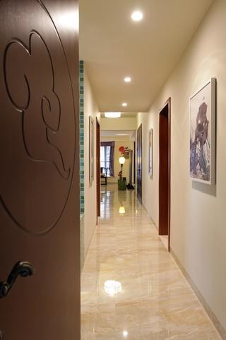 中式风格别墅走廊装修效果图