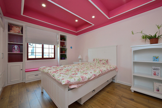 160㎡复式美式风格儿童房装修效果图