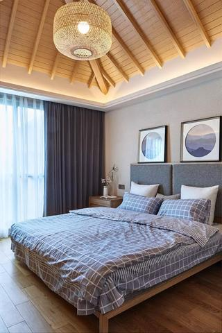 135平日式风格卧室装修效果图