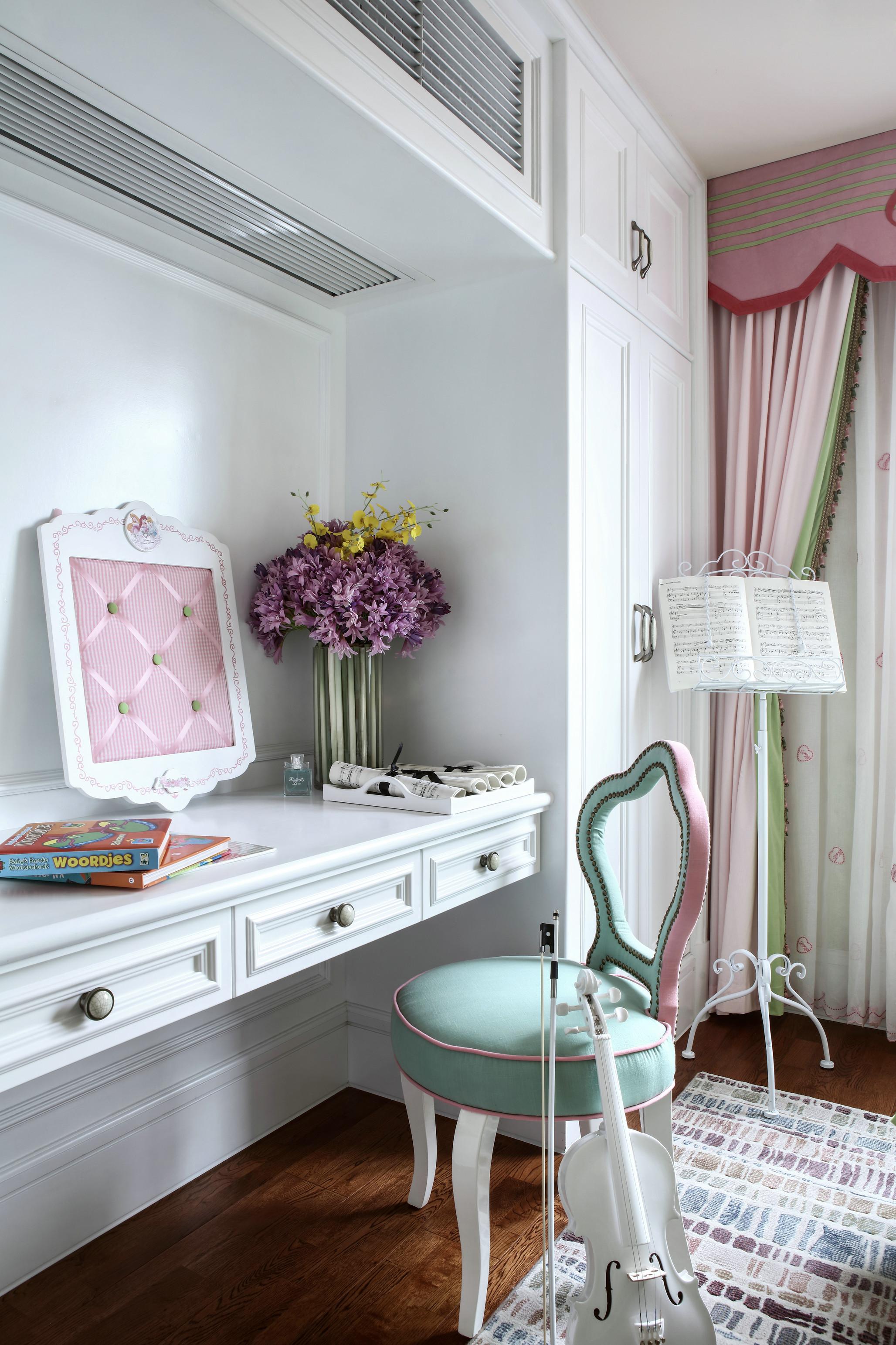 法式风格别墅装修书桌设计图