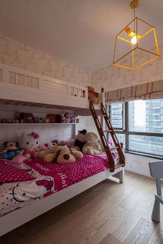 现代简约四居儿童房装修效果图