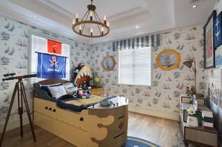 地中海风格别墅儿童房装修效果图