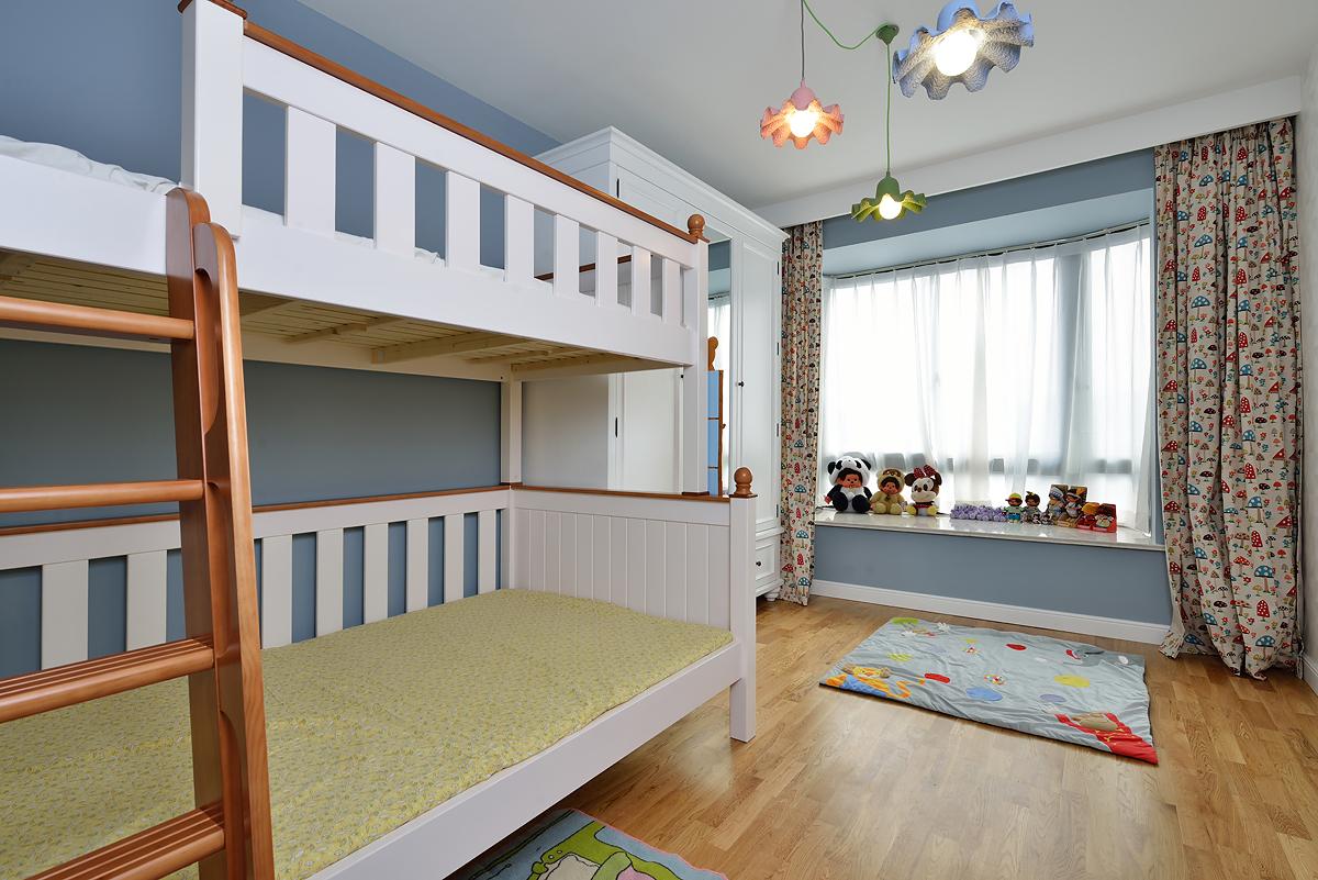 简美风格三居儿童房装修效果图