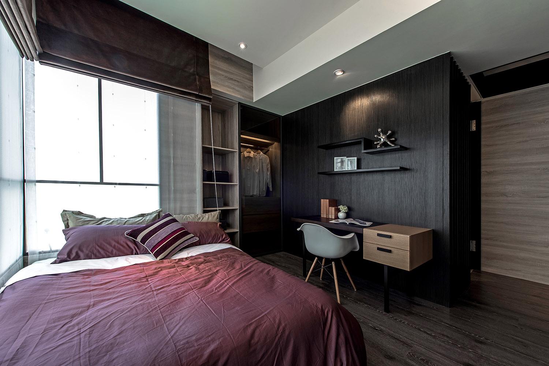 150㎡现代风格卧室装修效果图
