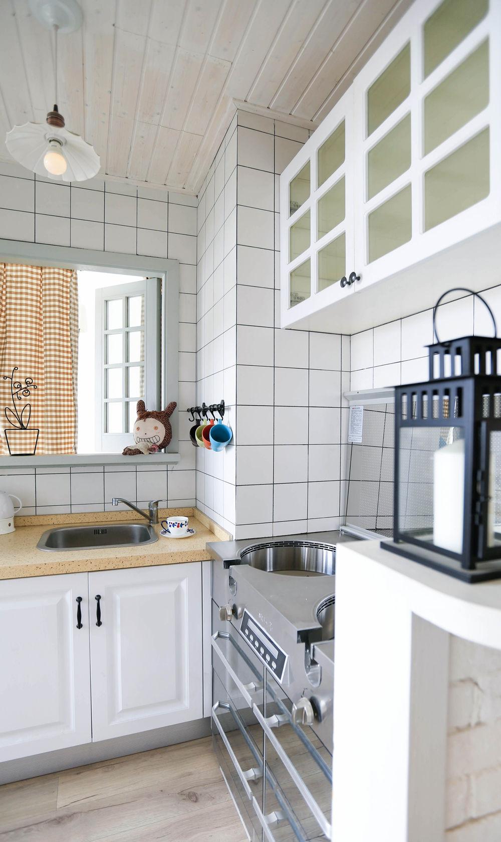 小户型北欧风厨房装修效果图