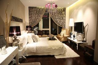 新古典风格二居卧室装修效果图