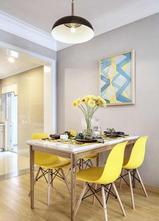 二居室现代简约餐厅每日首存送20