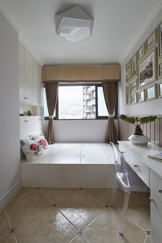 简美风格四居室榻榻米装修效果图