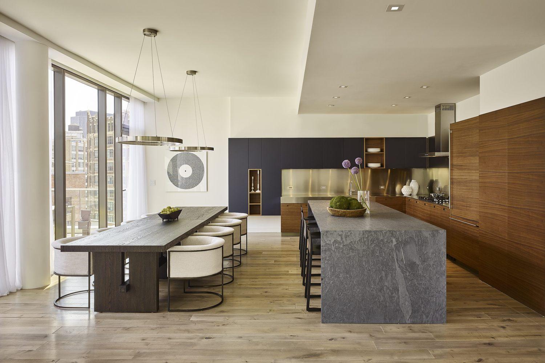 大户型现代公寓装修效果图
