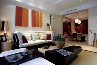 东南亚风格四居装修效果图