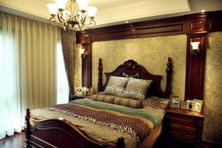 148㎡美式风格卧室装修效果图