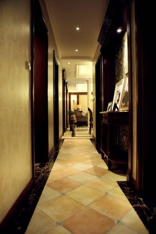 148㎡美式风格走廊装修效果图
