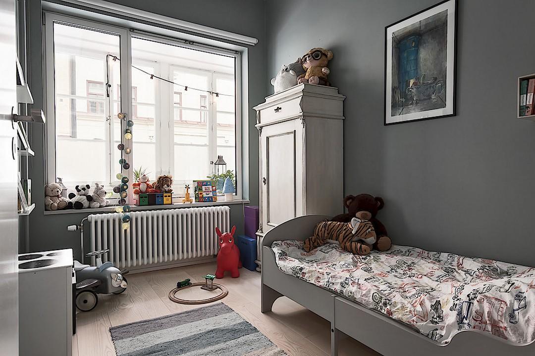 83平北欧风二居儿童房装修效果图
