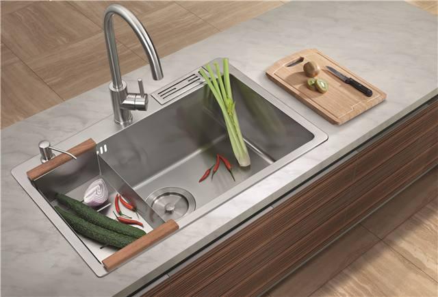 厨房水槽位置有哪些讲究 水槽都有什么形状!