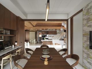 大户型现代风格餐厅装修效果图