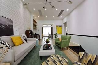 三居室北欧风格客厅每日首存送20