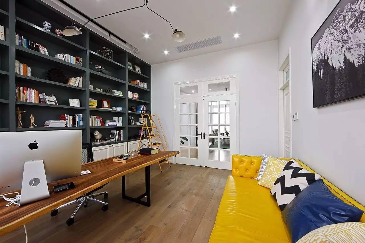 三居室北欧风格书房装修效果图