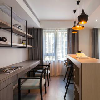 105㎡现代两居室装修效果图
