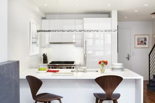 小户型复式公寓厨房装修效果图