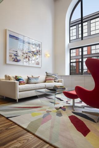 小户型复式公寓客厅装修效果图