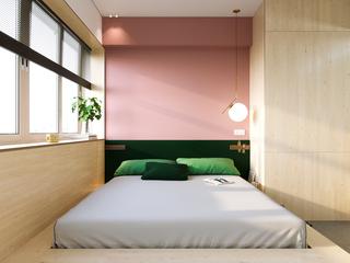 22㎡小户型公寓卧室装修效果图