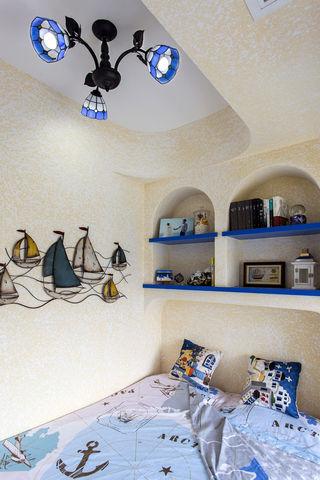 65㎡地中海风格卧室装修效果图