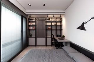 136㎡轻工业风公寓卧室装修效果图
