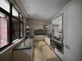 大户型简欧风格厨房装修效果图