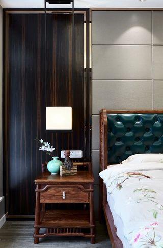 200平米中式风格装修床头柜设计图