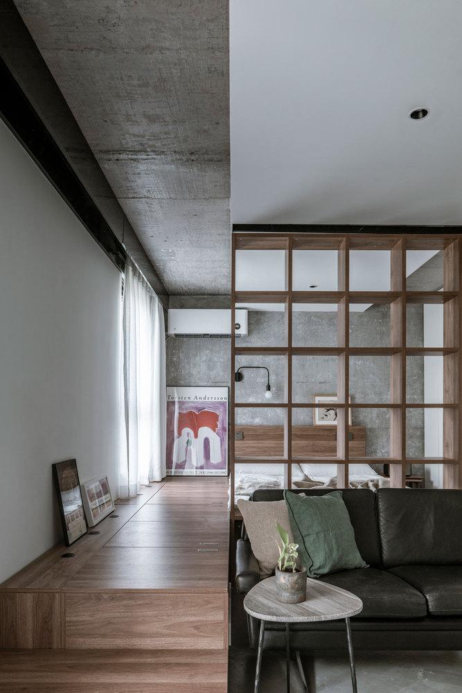 43平米一居卧室装修效果图