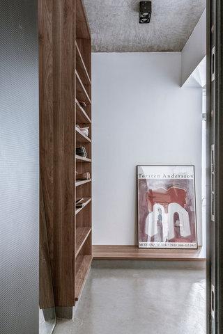 43平米一居室玄关装修效果图