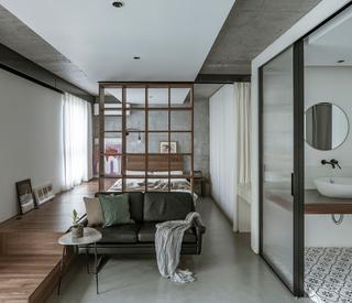 43平米一居室客厅装修效果图
