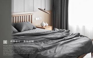 140㎡现代风格装修卧室装修效果图